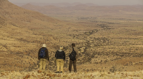 Experience the stark beauty of Damaraland's wilderness on foot